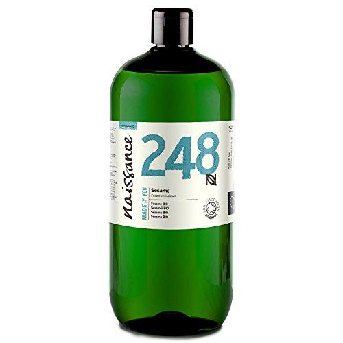 Naissance Huile de Sésame Certifiée BIO (n° 248) - 1 litre - 100% pure et naturelle