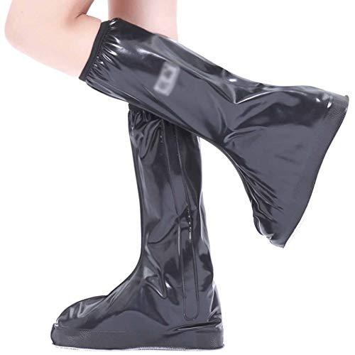 WJHH PVC Medium Tube Schuhe Silica Gel Antifouling Fußset für Bergsteigertourismus