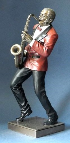 Le Monde du Jazz Jazz Musik Skulptur - Saxophon - Kollektion Parastone Ateliers #76218