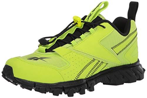 Reebok Men's DMXPERT Sneaker, neon Lime/Black/neon Lime, 11