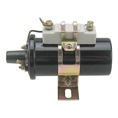 D4PE12029AA Tractor 6 or 12 Volt Ignition Coil for Ford 8N 9N 2N 600 700 800+