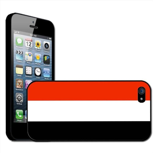 Fancy Een Snuggle Jemen Vlag Clip Op Back Cover Hard Case voor Apple iPhone 5