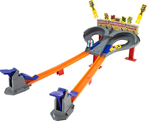 Hot Wheels Race Super Speed Blastway Dual Track Racing Ages 6 and older