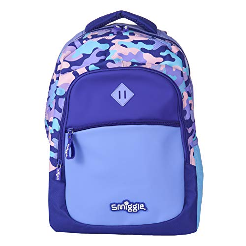 Smiggle Kids School Backpack from The Block Collection for Boys and Girls...