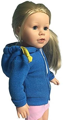 Hay más marcas de productos de alta calidad. Set of 3 Doll Doll Doll Sweatshirts - Sweatshirt for 18 inch Dolls by The New York Doll Collection  Obtén lo ultimo