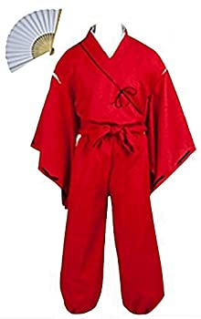 Fuji Inuyasha Hero Simplified Cosplay Costume  L