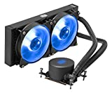 Cooler Master MasterLiquid ML240 RGB TR4 Edition Water Cooling Integrated CPU Cooler [AMD TR4 Compatible] FN1252 MLX-D24M-A20PC-T1