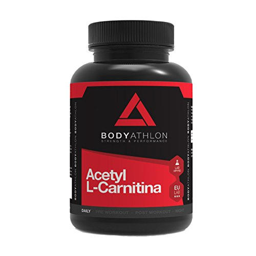 Bodyathlon Acetil L-Carnitina - 90 cápsulas 500 mg