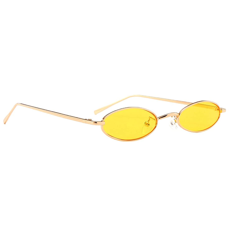 Baosity 全7色 男女用 メタル サングラス メガネ アイウェア UV400  紫外線カット 屋外活動用  自転車 釣り 登山 運転