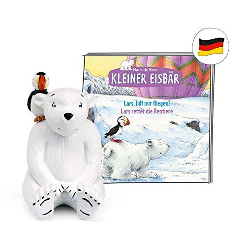 tonies Hörfiguren für Toniebox - Kleiner Eisbär - Lars, hilf Mir fliegen! / Lars rettet die Rentiere - ca. 19 Min. - Ab 4 Jahre -DEUTSCH