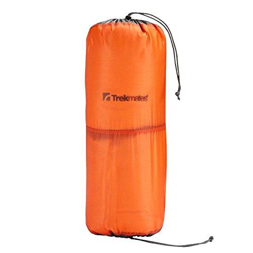 TREKMATES 2 Tier Micro Lite Stuff Bag 2L - Borsone Ultraleggero con 2 Scomparti, Aperture su entramb