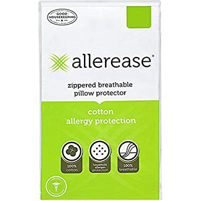 Aller-Ease AllerEase Cotton Allergy Protection Pillow Protectors by Aller-Ease