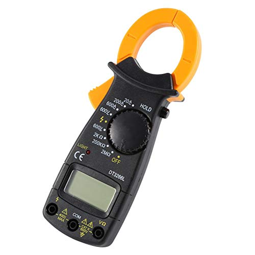 DT-3266L Digital Amper Clamp Meter Multimetro Current Clamp Pinze Voltmetro Amperometro 600A AC/D Strumento elettronico Tester Display LCD