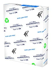 MADE IN USA - Hammermill copying and printing paper is 100% made in the USA, helping to support 2. 4 million sustainable forestry jobs in America, including family tree farmers. Hammermill is more than just paper. See images. 99. 99% JAM-FREE - You c...