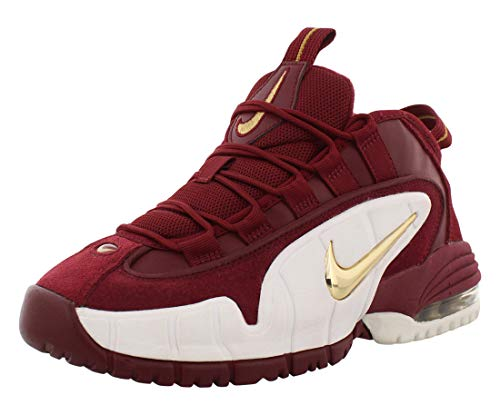 Nike AIR MAX Penny LE (GS) Team RED/Mtllc Gold [315519-600] US 5 Youth