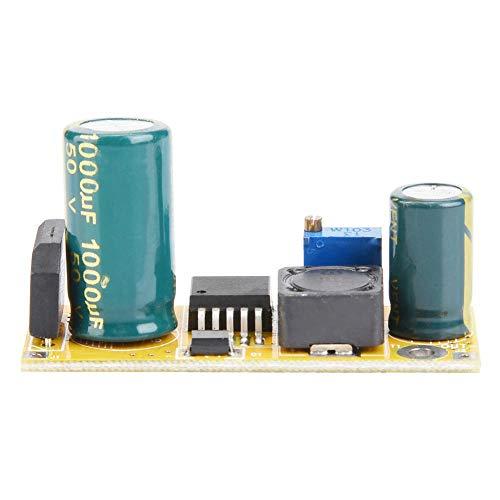 SEAFRONT Buck Converter Modul, AC-DC Spannungs Abwärtsmodul, AC24V-DC12V 3A Einstellbare Ausgangsspannung Abwärtsmodul Spannungsversorgung Abwärtswandlerregler für Car-Audio, Motor, LED Anzeige