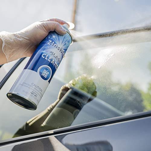 Zinshine Glass Cleaner Spray 3-Pack Ammonia Free for Auto & Home on Window/Windshield/Mirror/Ceramic,19 Oz.
