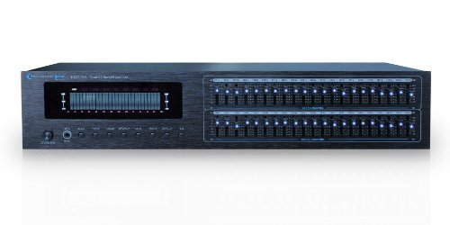 Technical Pro EQ7153 Dual 21 Band Professional Equalizer,BLACK