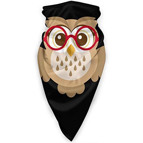 Nother Máscara de búho con gafas, calentador de viento, máscara facial para exteriores