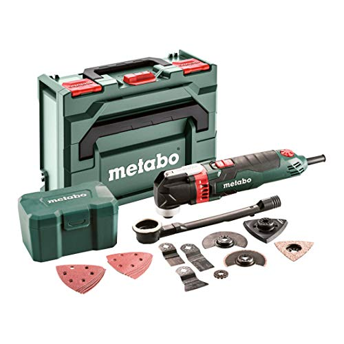 Metabo Multitool MT 400 Quick Set (601406700) für Holz Fliesen MetaLoc