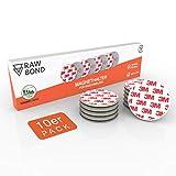RAWBOND® Magnethalterung Rauchmelder [10er Set] - Praktischer Rauchmelder Magnethalter mit extra...