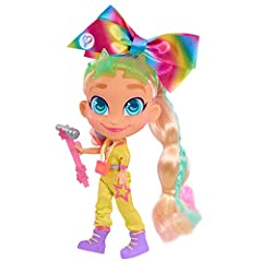 Just like Noah, JoJo Siwa was an overnight viral sensation. Now JoJo Siwa is showing off her newest Hairdorables inspired styles! Dressed in an outfit inspired by from her Kids Choice Awards appearance, each Special Edition JoJo Loves Hairdorables in...