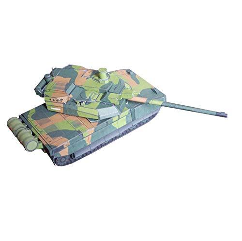 X-Toy Papel Militar Rompecabezas Juegos De Construcción, 1/