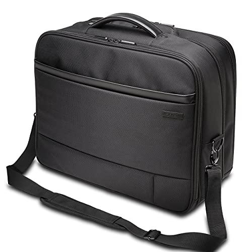 Kensington Business Laptop Trolley Contour 2.0, Laptop Rolltasche für bis zu 17 Zoll Laptops, mobile Laptoptasche mit Rollen, Ideales Handgepäck für Laptops und Tablets bis 17 Zoll, K60385WW