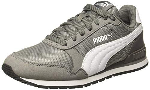 Puma Unisex-Erwachsene ST Runner v2 Mesh Sneaker, Grau (Charcoal Gray), 46 EU