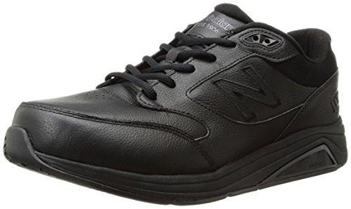 New Balance mens 928 V3 Lace-up Walking Shoe, Black/Black, 11 Wide US
