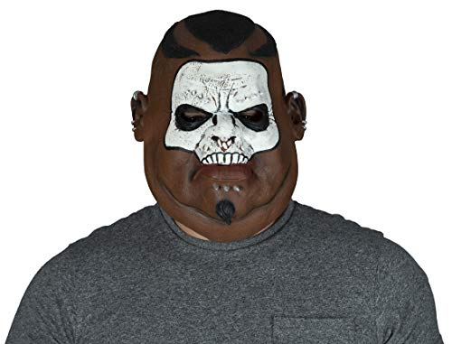 MKS Halloween Masken Latex Über Kopf (Medizinmann / Shamane)