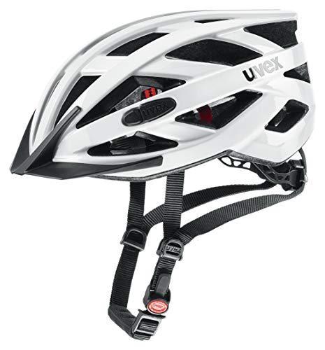 Uvex Unisex– Erwachsene, i-vo 3D Fahrradhelm, white, 56-60 cm