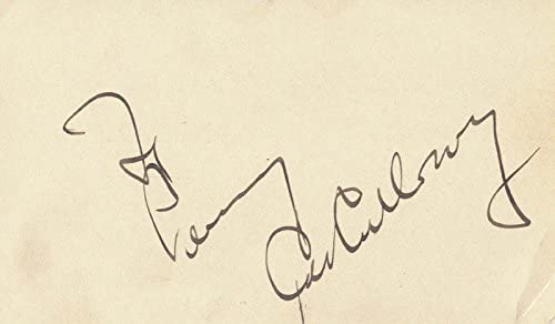lowest price Cab Calloway Complete Free Shipping - Inscribed Signature