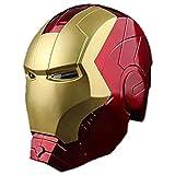 STZYY Avengers Casco Escudo Molde Iron-Man Spider-Man Thor Capitán América Modelo de Sala de Estar Adornos Inteligentes para niños Dormitorio Accesorio Luz de Escritorio