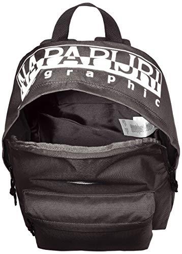 Napapijri Unisex Happy Daypack Re Luggage Carry-On Luggage, black (Black) - NP0A4E9U