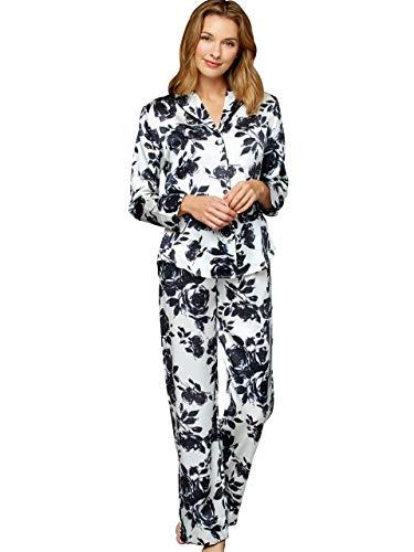 Silk Print Pajamas