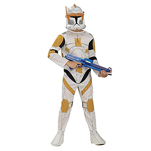 Rubies Star Wars Clone Wars Child's Clone Trooper Commander Cody Costume and Mask, Small