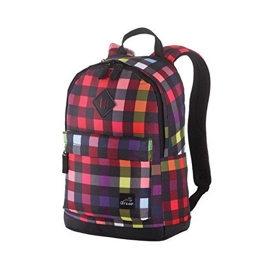 Let´s Go Freizeit Rucksack RS/14, Laptopfach bis 15,6 Zoll, robust und wasserabweisend, Daypack/Schulrucksack für Damen und Herren