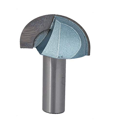 New Lon0167 1/2' x Featured 1-1/2' Woodworker Round reliable efficacy pipes tubes Cove Core Box Router Bit Wood Cutting Tool(id:c65 74 5e 67d)