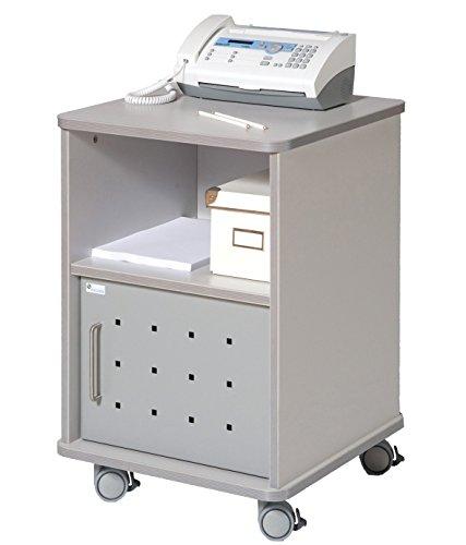 Rocada Mesa para Fotocopiadora, Metal, Blanco, 52x17.5x64 cm