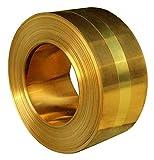 真鍮プレート 銅シートの金属製の真鍮のCuの箔板銅のストリップの銅ロール硬くて強い耐久性 板金 Size  0.012inch 0.3mm