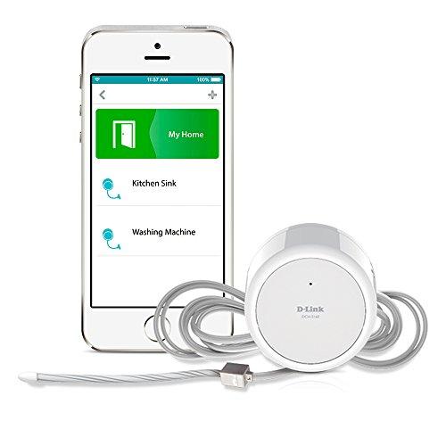D-Link DCH-S160 mydlink Wi-Fi Water Sensor,White