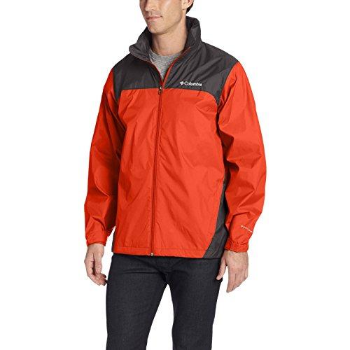 Columbia Men's Glennaker Lake Rain Jacket, Super Sonic/Shark, Medium