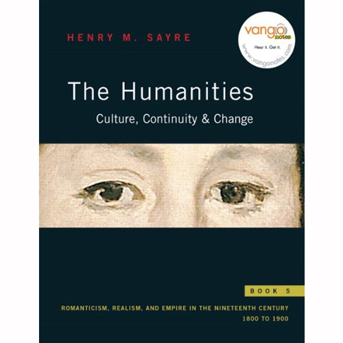 VangoNotes for The Humanities audiobook cover art