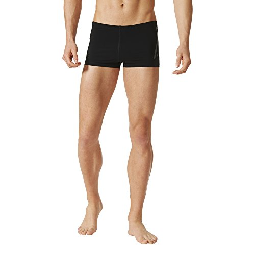 adidas Herren Reg Training Boxer Badehose, Black/Night Met, 8