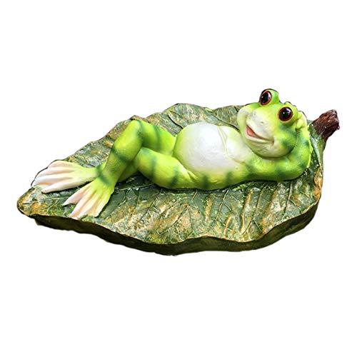 sknonr Outdoor-Garten-Dekoration, Pool Ornamention Frosch Skulptur, Garten-Tier-Crafts (Color : B)