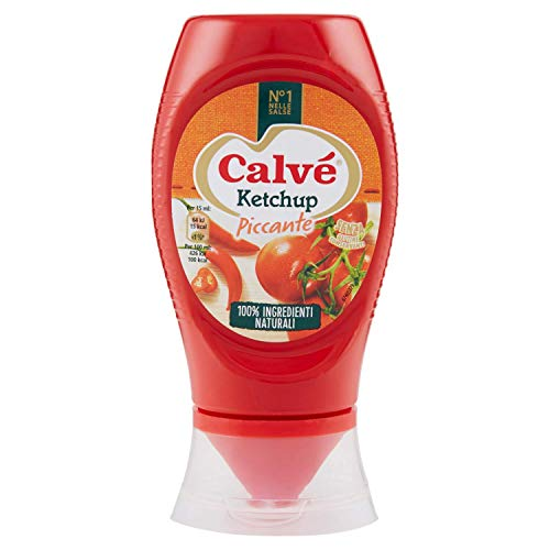 Calvè Ketchup Piccante Top Down - 250 Ml
