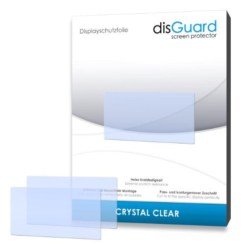 disGuard Displayschutzfolie für Becker Ready 50 LMU Plus [4 Stück] Crystal Clear, Kristall-klar, Unsichtbar, Extrem Kratzfest - Displayschutz, Schutzfolie, Glasfolie, Panzerfolie