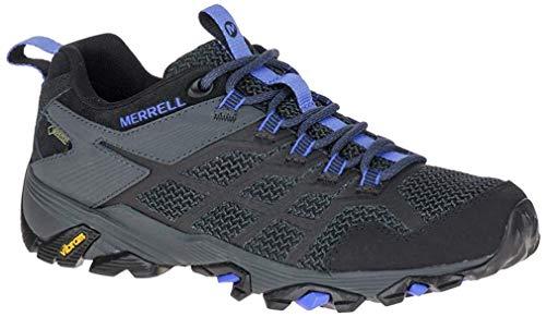 Merrell Moab FST 2 GTX, Chaussures de Loisirs et de randonnée pour Femmes, Black/Granite (Multicolor), 36 EU