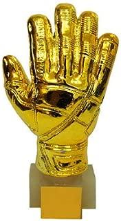 Wanson Football Goalkeeper Medal Golden Glove Trophy Gold Football Trophy Replica FIFA 2018 Russia Creative World Cup Trophy Plating Football Fans Souvenir Resin Handicraft 3D Gold